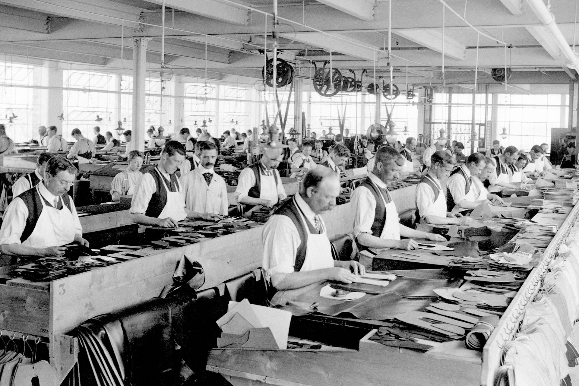 Crockett Jones Factory Northampton