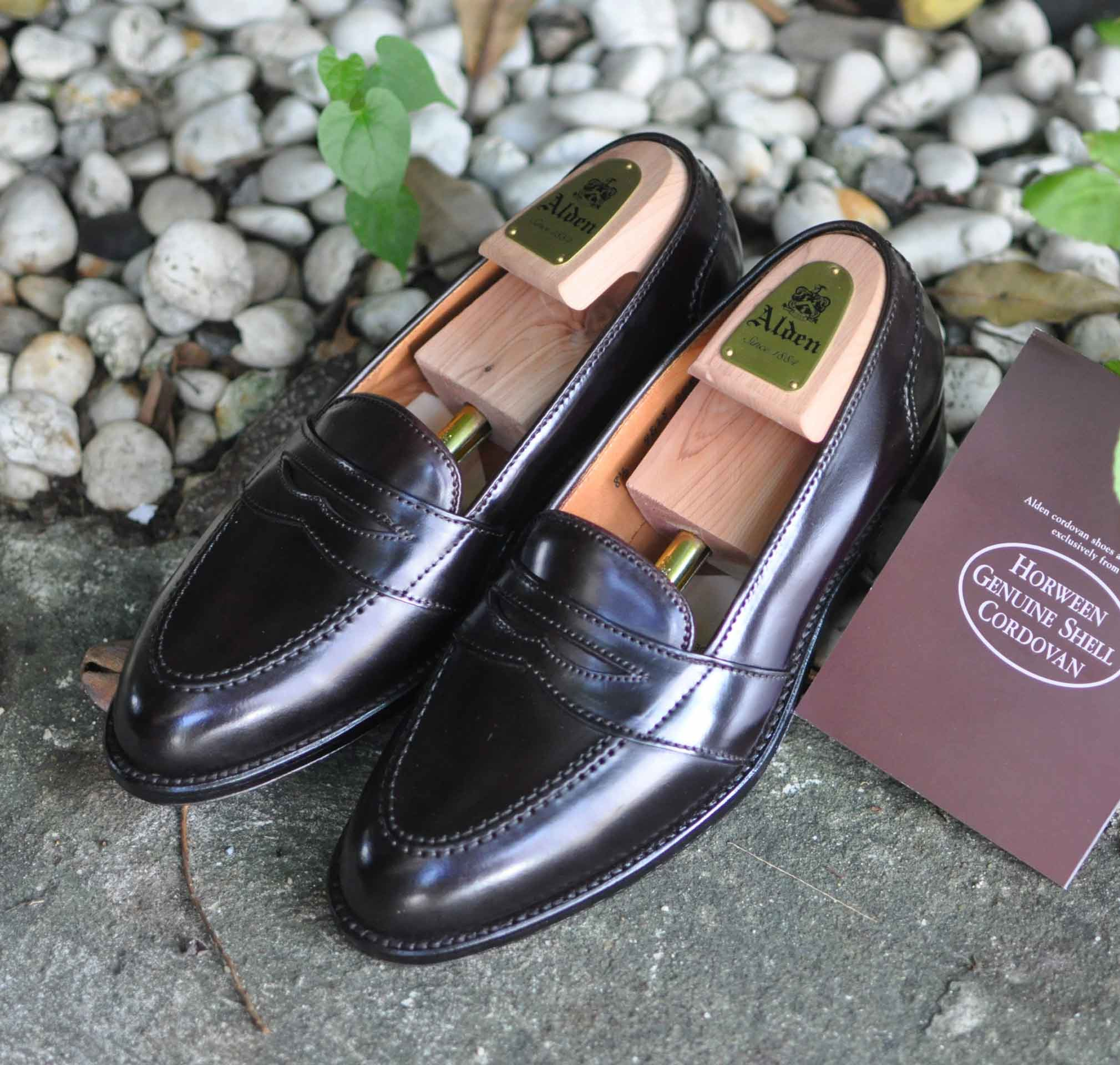 Alden Full Strap Penny Loafers