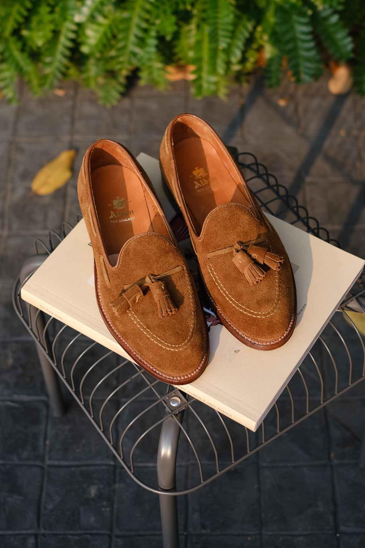 Alden Suede Tassel Loafers