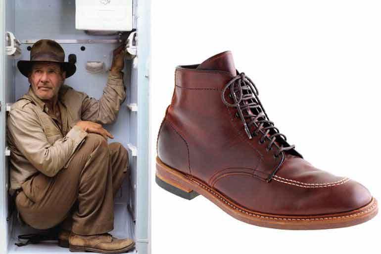 รองเท้า Indy Boots ใน Indiana Jones