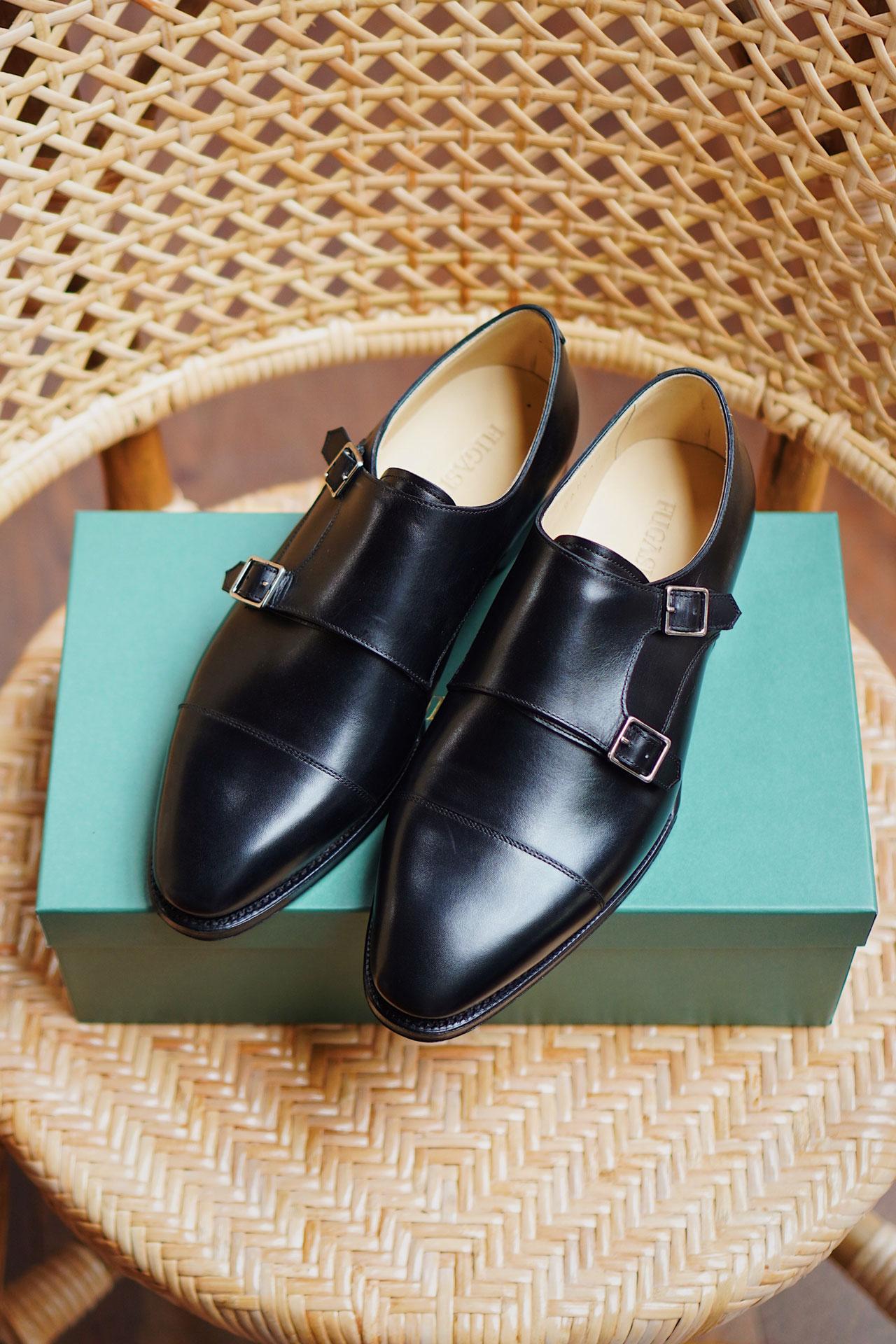 รองเท้า Double monk strap จาก Fugashin