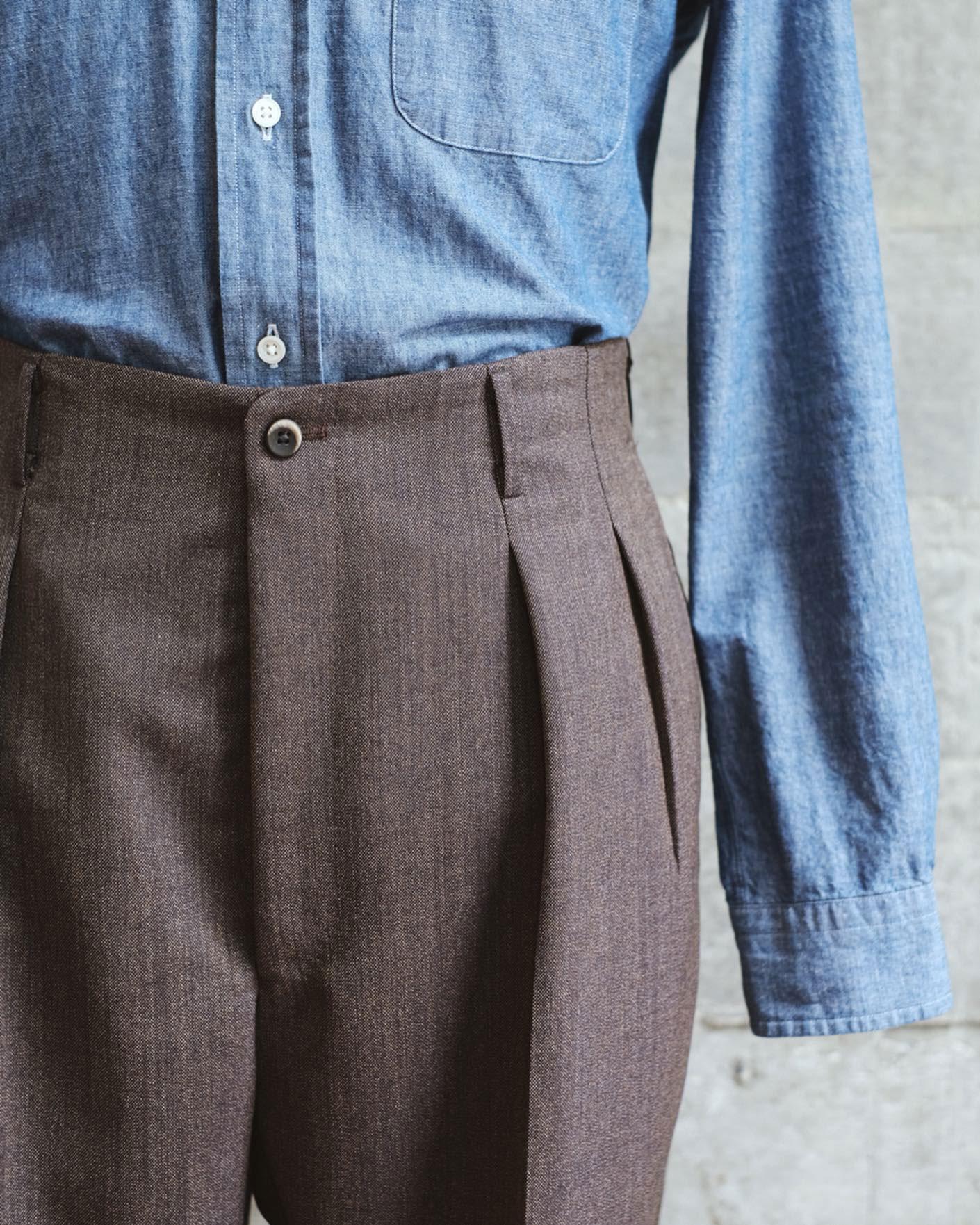 กางเกงทรง Hollywood Trousers