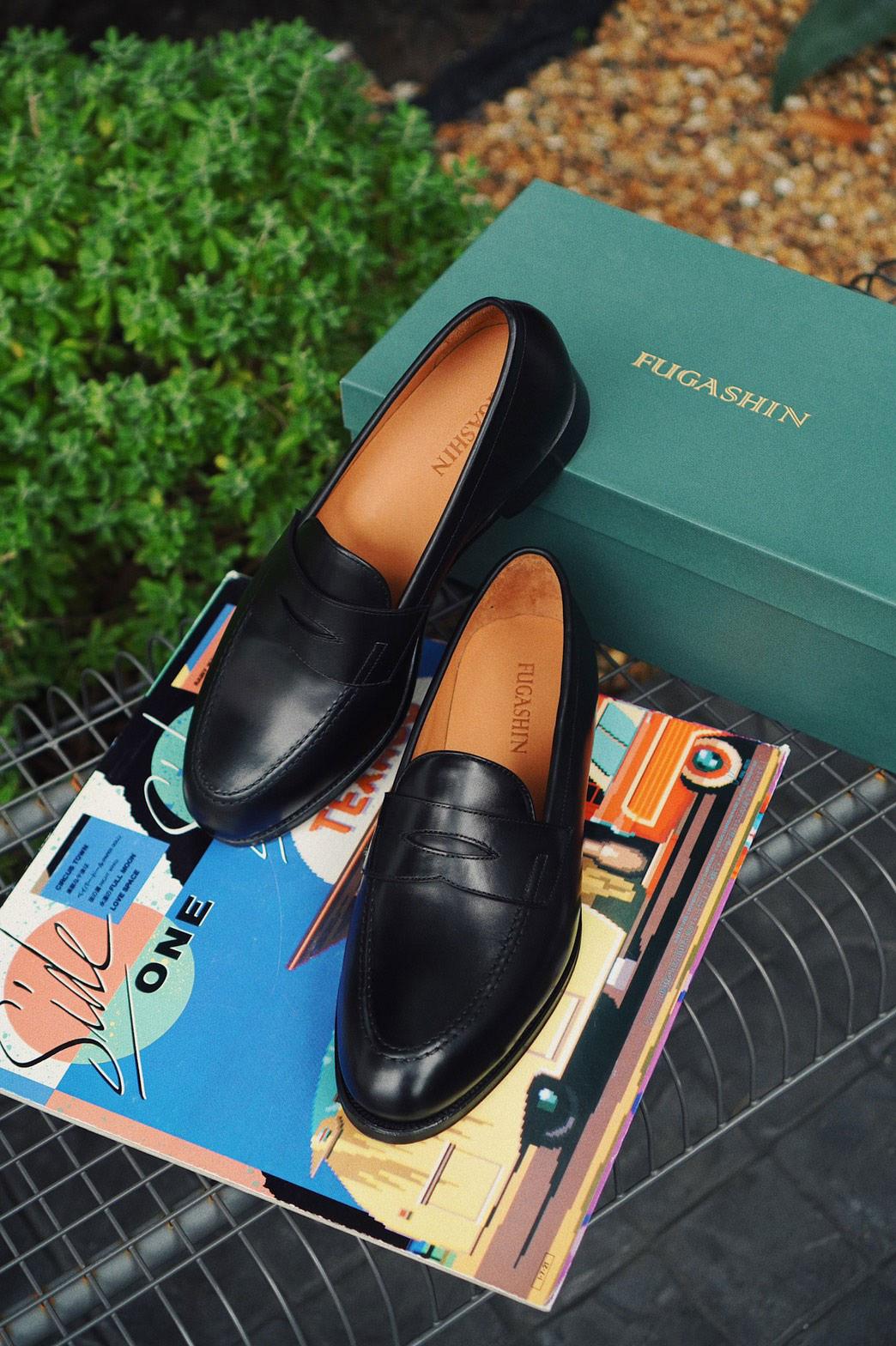 Fugashin New Last Penny Loafers - Black